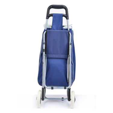 Shopping Trolley Bag with Foldable Chair