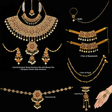 Complete Bridal Jewellery Collection