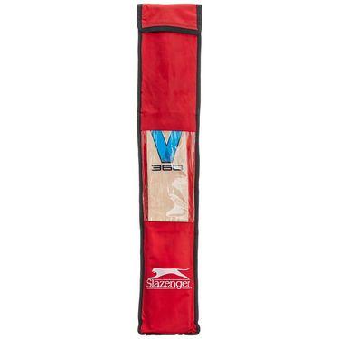 Slazenger Kashmir Willow Cricket Bat Size 5 - V 360 Select