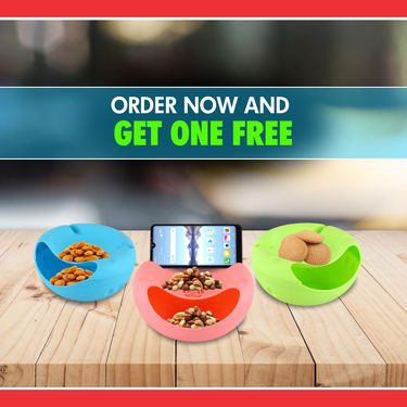 Royal Chef Snack Box with Mobile Holder - Buy 1 Get 1