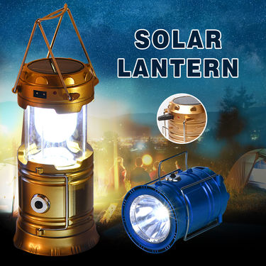 Solar Emergency Light with Torch
