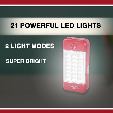Powerful LED Lights + Powerbank with Solar Charging