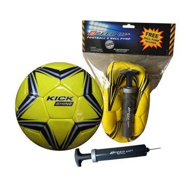 Speed Up FOOTBALL HI5 & PUMP - Yellow