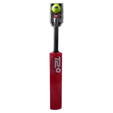 Speed Up Red T-20 Cricket Bat & Ball Set Size - 6