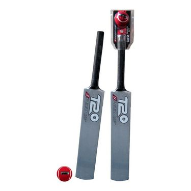 Speed Up Sliver T-20 Cricket Bat & Ball Set Size - 1