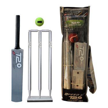 Speed Up Sliver T-20 Wooden Cricket Set Size - 6