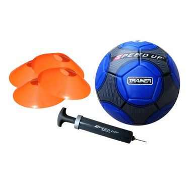 Speed Up 6 Pcs Complete Football Training Set  - Blue
