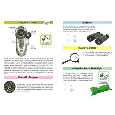 Amazing Set of 5 Kids Spy Gadgets Kit - Series1