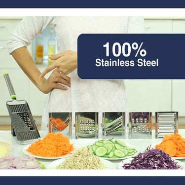 Royal Chef Stainless Steel 6 in 1 Slicer & Shredder