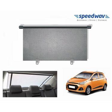 Speedwav Car Rear Window Roller Sunshade 90cm GREY- Hyundai i10 Grand