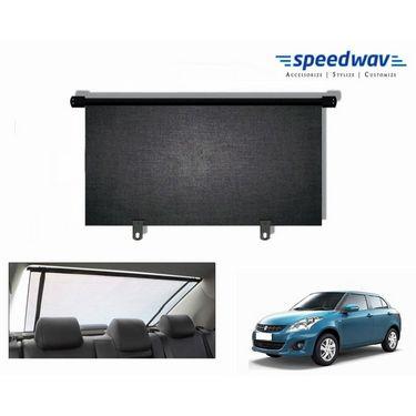 Speedwav Car Rear Window Roller Sunshade 90cm Black- Maruti Swift Dzire new