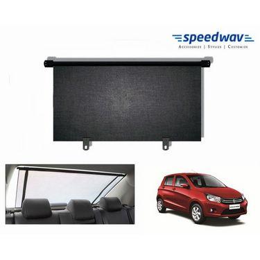 Speedwav Car Rear Window Roller Sunshade 90cm Black- Maruti Celerio