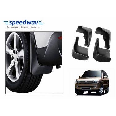 Speedwav Car Mud Flaps Set 4 pcs - Tata Safari