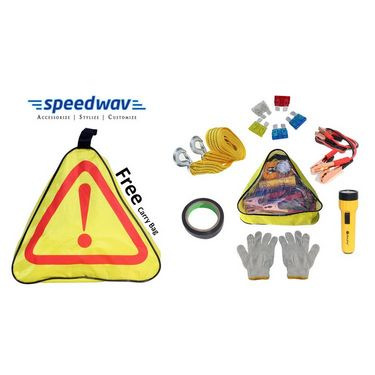 Speedwav 6 in 1 Emergency Tool Kit With Torch