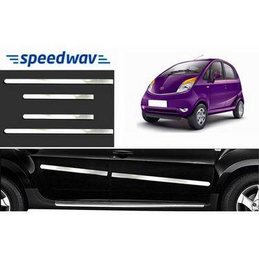 Speedwav Full Chrome Side Beading For Tata Nano