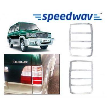 Speedwav Toyota Qualis Chrome Tail Light Molding