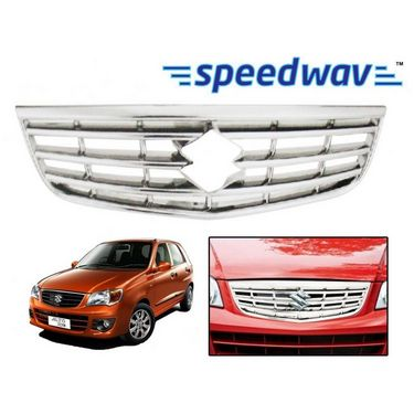 Speedwav Maruti Suzuki Alto (K-10) Front Chrome Grill Covers