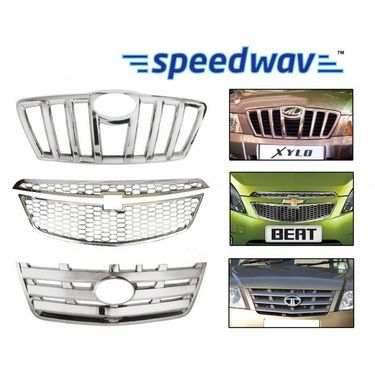 Speedwav Mauti Suzuki Wagon R Front Chrome Grill Covers