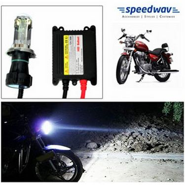 Speedwav Bike HID Headlight Conversion Kit 6000K-Bullet Thunderbird 350 Old