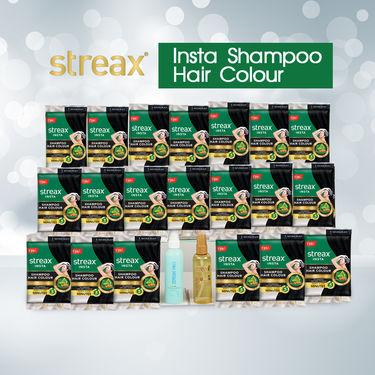 Streax Insta Shampoo Hair Colour