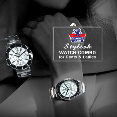Stylish Watch Combo for Gents & Ladies