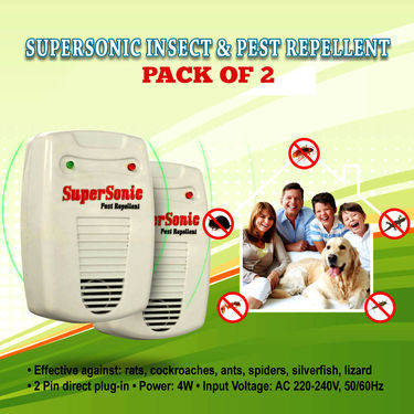 SuperSonic Insect & Pest Repellent - Pack of 2