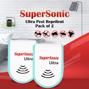 SuperSonic Ultra Pest Repellent - Pack of 2