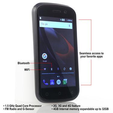Swipe 4G Gorilla Glass Smartphone (HD Play Screen)