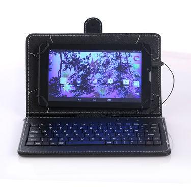 Swipe Gorilla Glass Calling Tablet with Keyboard (Slice)