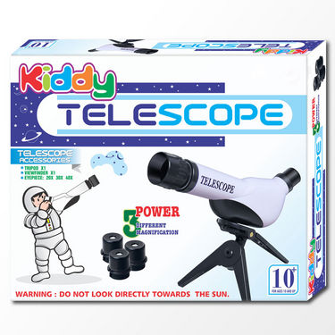 Kids Educational Telescope DIY Kit