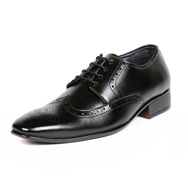 Ten Patent Leather Black Formal Shoes -ts233