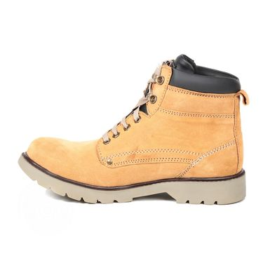 Faux Leather Tan Boots -T04