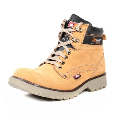 Ten Nubuck Leather Tan Boots -ts169