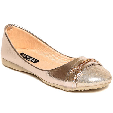 Synthetic Leather Gold Bellies -bl2Bklgld02