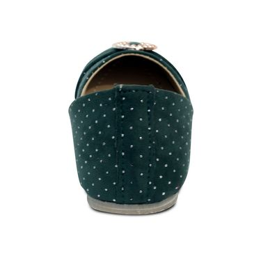 Ten  Fabric Green Bellies -ts225
