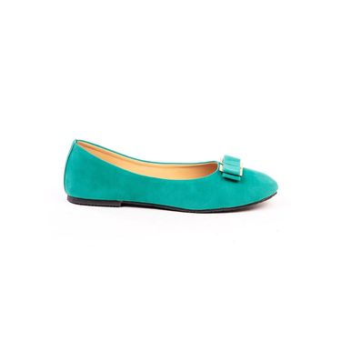 Ten Synthetic Leather Sea Green Bellies -ts256