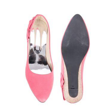 Ten Denim Pink Wedges -ts82