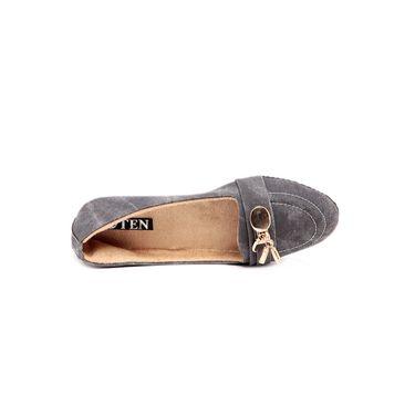 Ten Denim Grey Loafers -ts136