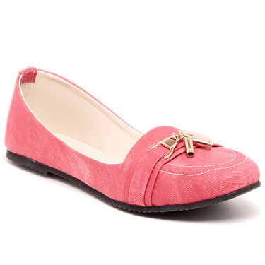 Ten Denim Red Loafers -ts137