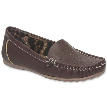 Ten Leather Brown Loafers -ts111