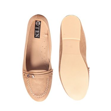 Ten Leather Tan Loafers -ts147