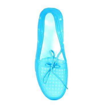 Ten PVC Blue Loafers -ts266
