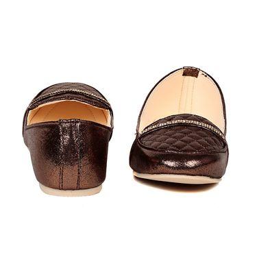 Ten Faux  Leather Copper Loafers -ts303