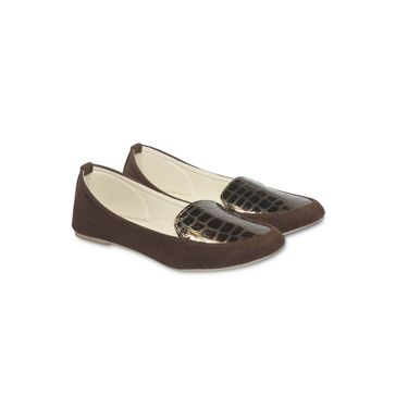 Ten Suede Brown Loafers -ts114