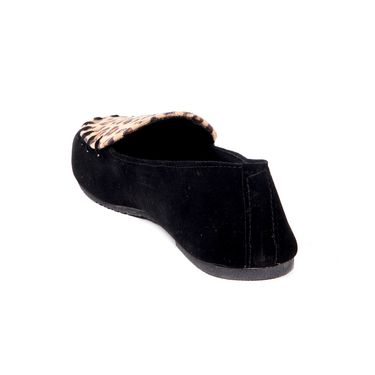 Ten Suede Black Loafers -ts132