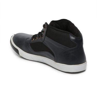 Ten Blue Leather Sneakers -mtj19