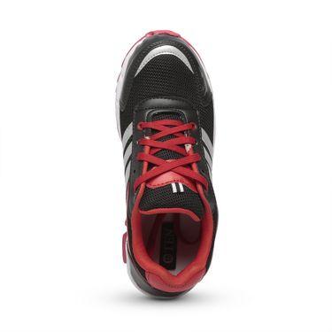 Ten Black & Red Mesh Sports Shoes -mtj15