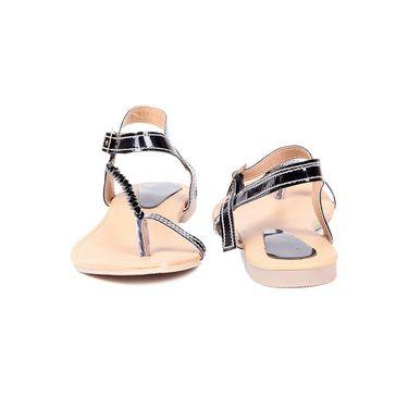 Ten Patent 093 Women's Sandals - Black