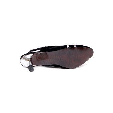 Ten Suede Black Sandals -ts88