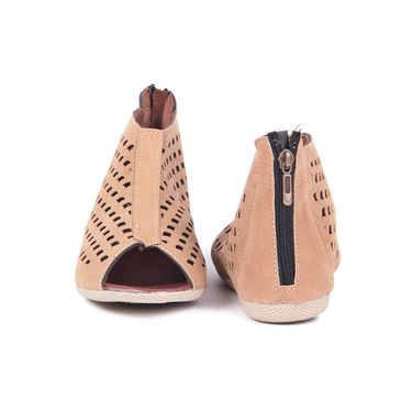 Ten Suede Tan Sandals -ts87